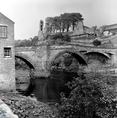 River Tees and Bridge, Barnard Castle